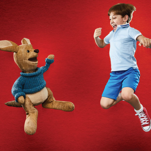 Christopher Robin and Roo